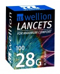 Lancety Wellion 100ks - 28G